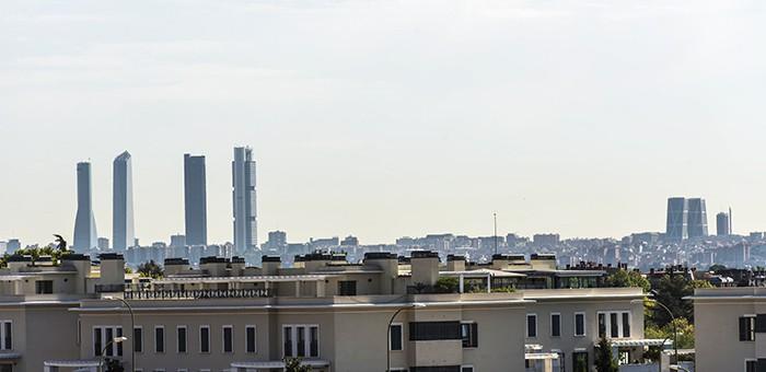 La vivienda en la zona noroeste de Madrid sigue bajando